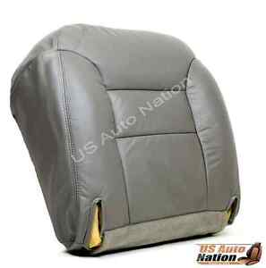 1997 Chevy Suburban 1500 2500 Lt Ls Driver Replacement Leather Seat Cover Gray