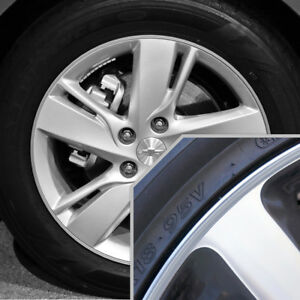 Wheel Bands Silver Silver Stripe Rim Edge Trim For Chevy Cavalier Full Kit