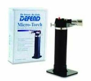 Defend Micro Torch lightweight And Compact W Electronic Ignition System