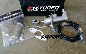 K Tuned Clutch Master Slave Cylinder Combo 02 06 Rsx Type S Base