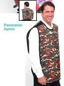 Flow Lead X ray Apron 24 x27 0 3mm Panoramic Grey Ea