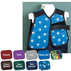 Flow Lead X ray Apron 20 x20 0 3mm Child Panoramic Eletric Blue Ea