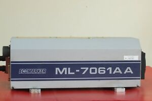 Miyachi Ml 7061aa Yag Laser Marker nd Yag 50w diode Pumped used70243