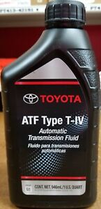 5 Quarts Toyota Scion Lexus Automatic Trans Fluid Type 4 Atf Oem New