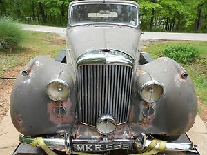 Complete 1950 Bentley Mk Vi For Parts Selling Air Filter Cleaner Rolls Royce