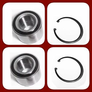 Front Wheel Hub Bearing W snap For Ford C max Escape Focus Left