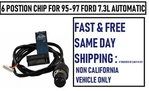 Ts Performance 1180402 6 Position Chip For 95 97 Ford 7 3 L Automatic 6 chip