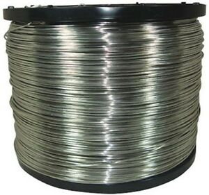 Never rust Aluminum Electric Fence Wire Jeffers Livestock T8w7 9 Ga 4000