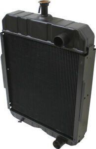 396352r92 Radiator For International 706 756 Tractors