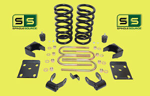 1997 2003 Ford F 150 F150 V6 2wd 3 5 Drop Lowering Kit Coils Ac1211
