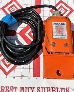 Goodway Foot Switch Pn 834 Nema Type 2 4 13 W 13 Foot Cord
