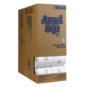 Georgia Pacific Angle Soft Ps Premium Embossed Bathroom Tissue case Of 40 Rolls