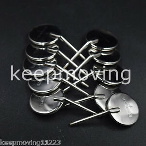 100 Pcs Dental Mouth Mirror Reflector Odontoscope Equipment 4 Stainless Steel