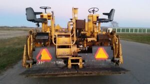 2002 Or 2003 Blaw Knox Pf 2181 Asphalt Concrete Paver Screed Roller
