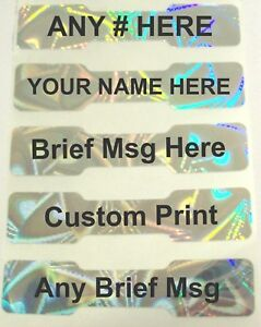 1000 Swl Mgr Dogbone Custom Adhesive Sticker Labels Seals