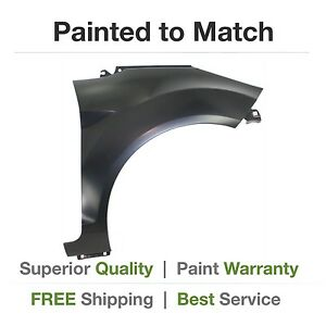 New 2011 2012 2013 Ford Fiesta Hb Right Fender Cover Painted fo1241278