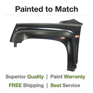 New For 2010 2011 2012 gmc Terrain Left Fender W 3 Hole Mount Painted gm1240366