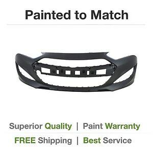 New Fits 2013 2014 2015 Hyundai Genesis Coupe Front Bumper Cover Painted