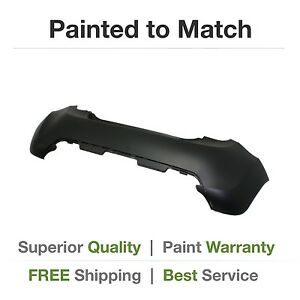 New 2013 2014 2015 Chevy Spark Rear Bumper W o Sport Pkg cover Painted