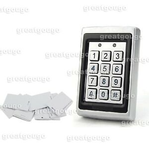 Rfid Reader Keypad Access Controller For Door Access Control Syatem Waterproof