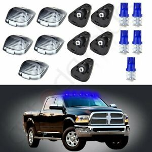 5pcs Roof Top Cab Marker 12v Led Clearance Light Kit For Ford F 150 F 250 F 350