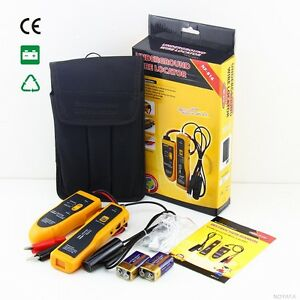 Nf 816 Underground Tube Wall Wire Cable Line Locator Lan Tracker Detector Tester