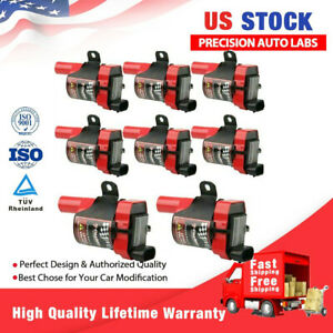 Carbole High Performance Ignition Coils Pack For Gmc Chevy D585 4 8l 5 3l 6 0l