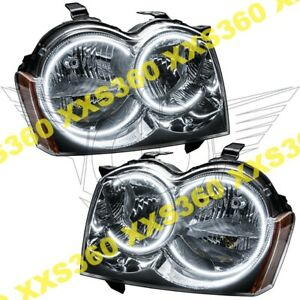 Oracle Halo Headlights Non Hid Jeep Grand Cherokee 05 07 White Led Angel Demon