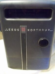 Leeds Northrup 2430 e Light Beam Galvanometer working Light
