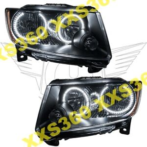 Oracle Halo Headlights Non Hid For Jeep Grand Cherokee 11 13 White Led Chrome