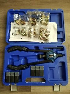 Astro Pneumatic Nut Rivet Hand Riveting Tool Kit Set Nut Serts Up To 1 2 1452
