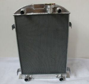 3 Row For Ford Model A Flathead Engine 1930 1931 All Aluminum Radiator 30 31 At