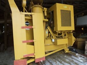 Blanchet Commercial Snowblower 247 Hours John Deer Diesel Great For Deep Snow