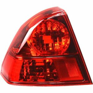 2003 2004 2005 Honda Civic Sedan Hybrid Tail Lamp Light Driver Side Left Tl Lh