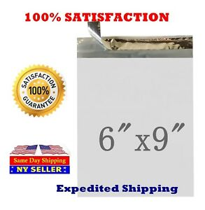2000 6x9 White 2 0 Mil Poly Mailer Self Sealing Shipping Envelopes Bags Pm 1