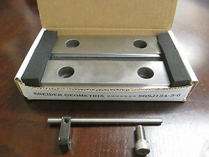 Hard Cnc Mill Double Stepjaws 1 8 1 4 Steps Works With Kurt 6 Vise Haas Fadal