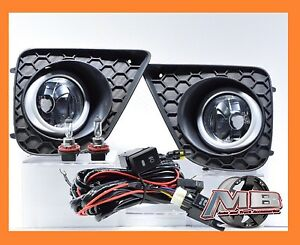 2013 15 Honda Accord Coupe 2dr Bumper Fog Lights Lamps Kit wiring switch pair