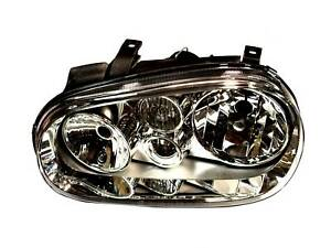 Headlight Left Side Fits Volkswagen Golf Hella