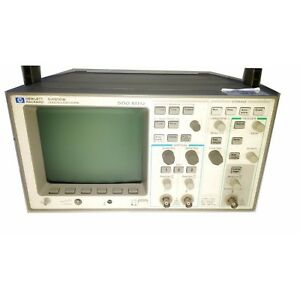 Hp 54610b Oscilloscope 500 Mhz With Hp 54650a Hp ib Interface Module