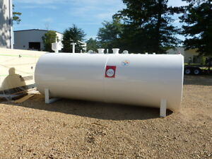 New 2500 Gallon Double Wall Fuel Tank