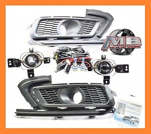 2015 2016 Chevy Cruze Fog Lights Clear Lamp Bulbs wiring Harness switch Perde