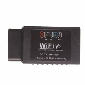 Elm327 Wifi Obd2 Eobd Scan Tool Support Android And Ios Software V2 1