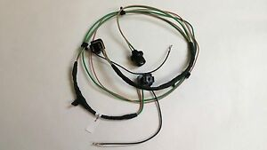 1963 1966 Chevy Pick Up Truck Headlight Grille Extension Wiring Harness Single