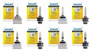 Authentic Philips Xenon White Bright Hid D1s D2s D3s D4s D1r D2r D3r D4r Germany