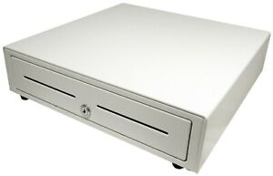 Apg Vasario 16 Square Register App Certified Cash Drawer Vb320 aw1616 White