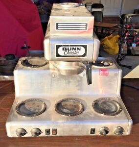 Bunn O matic Commercial 5 warmer Coffee Maker Crtf5 35