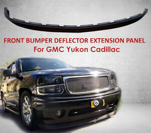 Front Bumper Deflector Extension Panel Valance Chevy Tahoe Gmc Yukon Cadillac