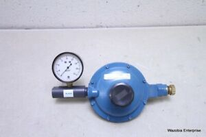 Linde Union Carbide Low Pressure Gas Line Regulator Ssc 1
