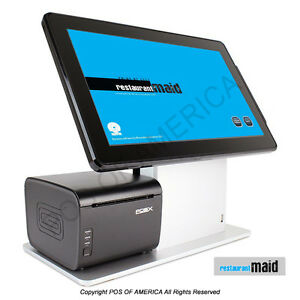 Pos x Tp5 pos Maid for Restaurant Bakery Bar All in one Station Complete Bundle