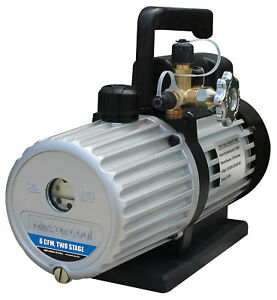 Mastercool 90066 2v 110b Two Stage Vacuum Pump 6 Cfm